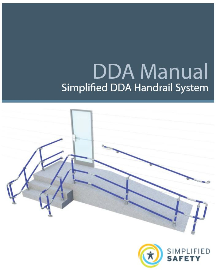 What is a DDA compliant handrail