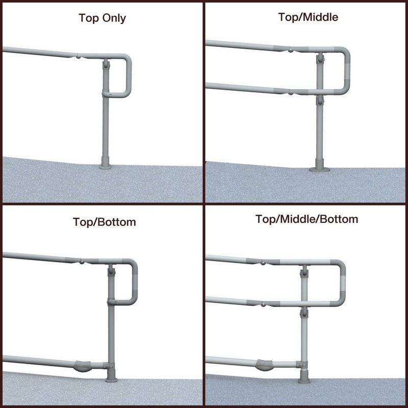 DDA handrail styles