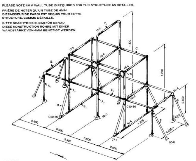 DIY Climbing Frame - Simplified Building