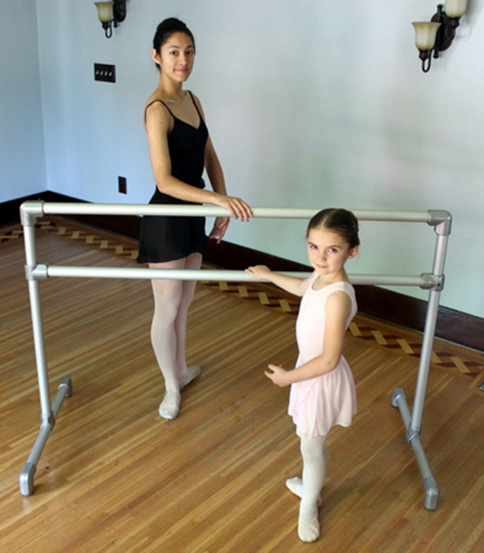 Build your own lightweight ballet barre