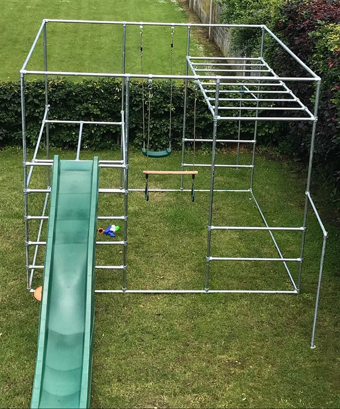 custom outdoor play frame