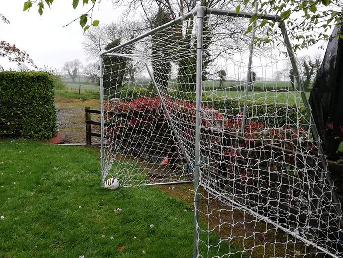 weatherproof football goal posts