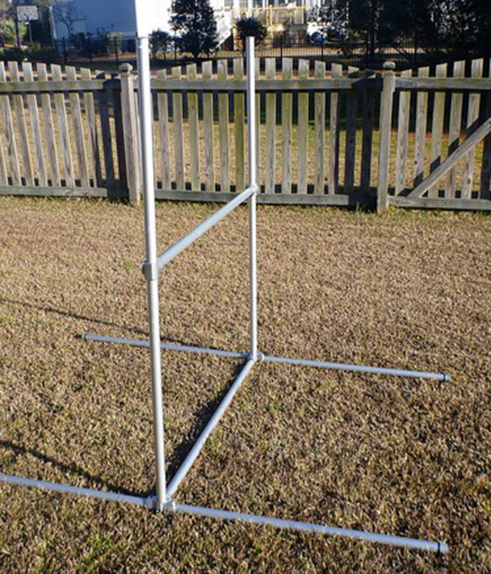 outdoor gymnastics frame
