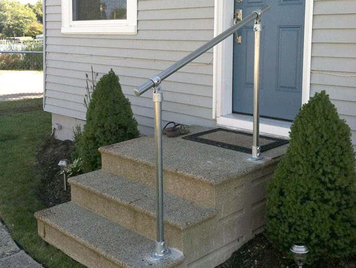 easy to install handrail for stairs