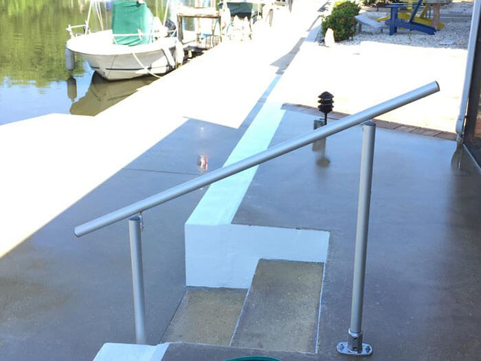 weatherproof aluminium railing