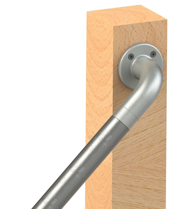 continuous wall rail