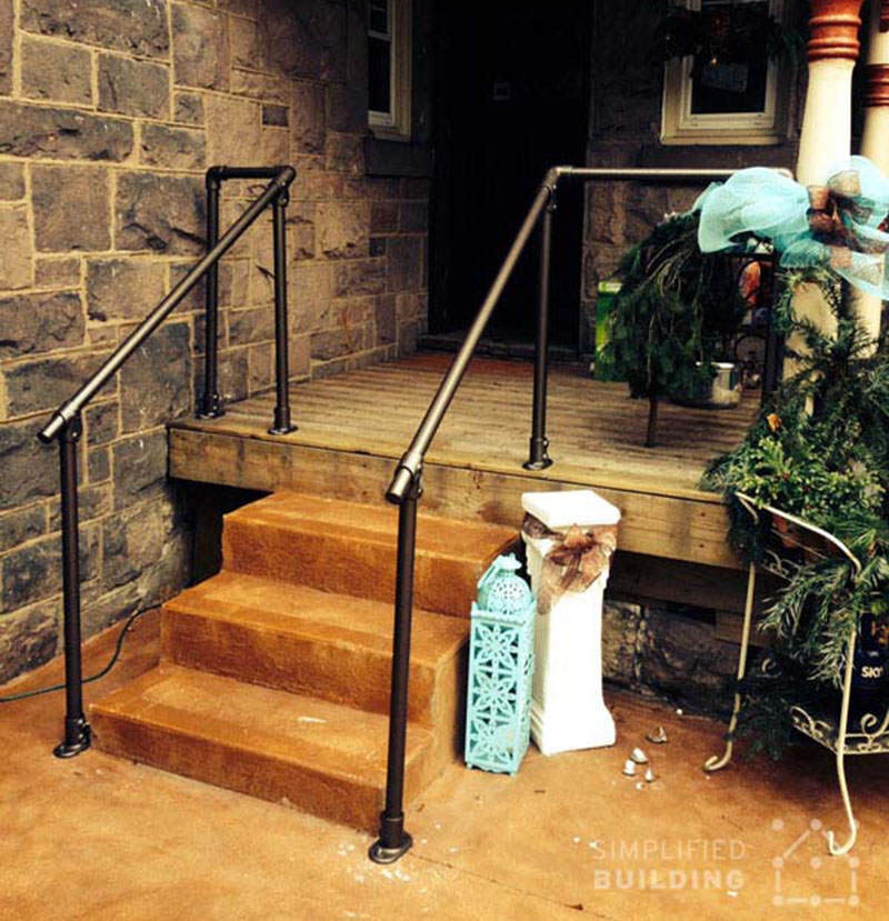 Home handrail system
