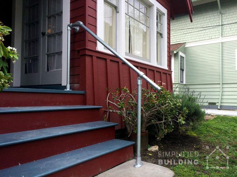outdoor handrail system