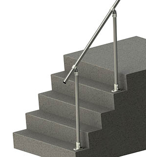 Topfixed Inline Adjustable Handrail