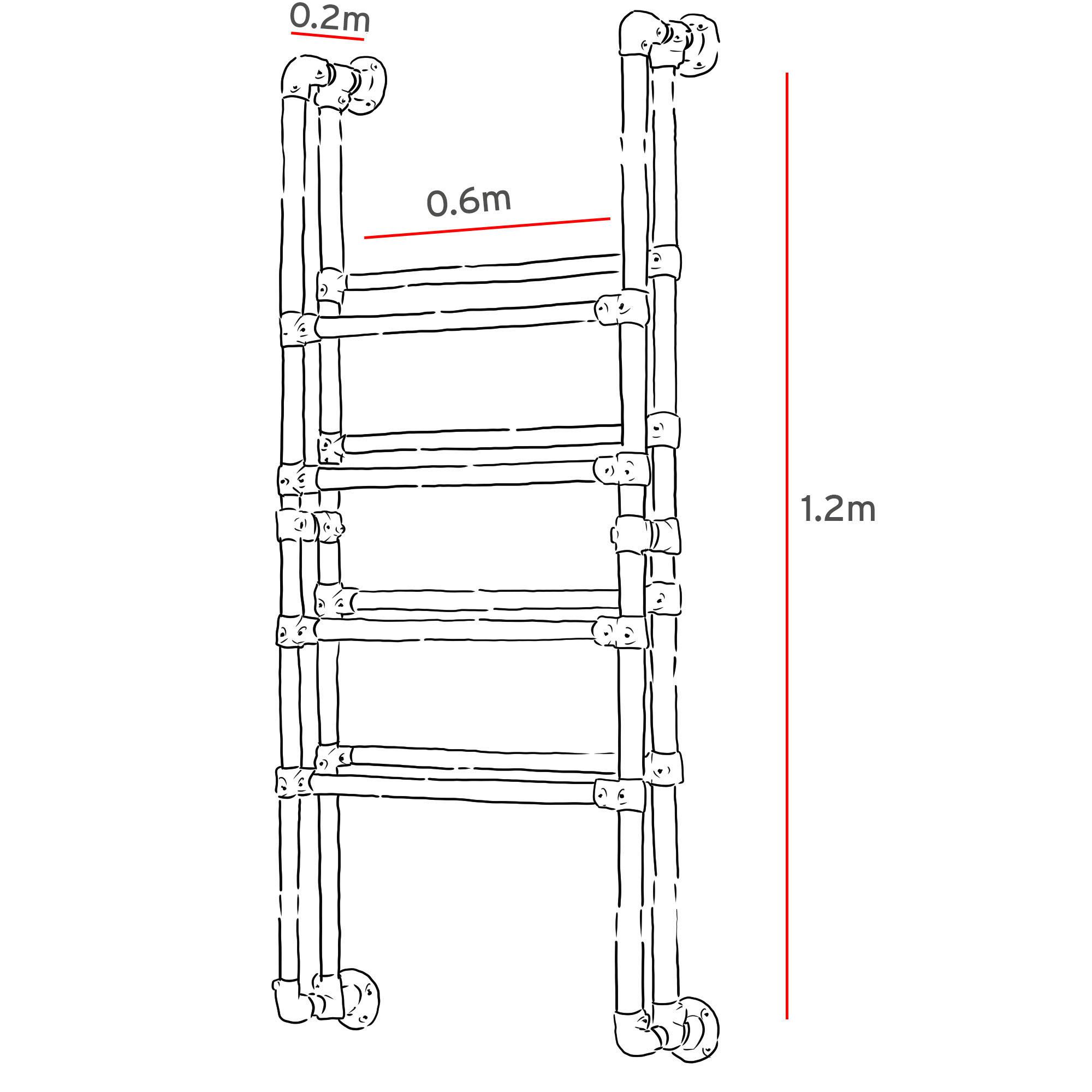 industrial wall mounted shoe rack