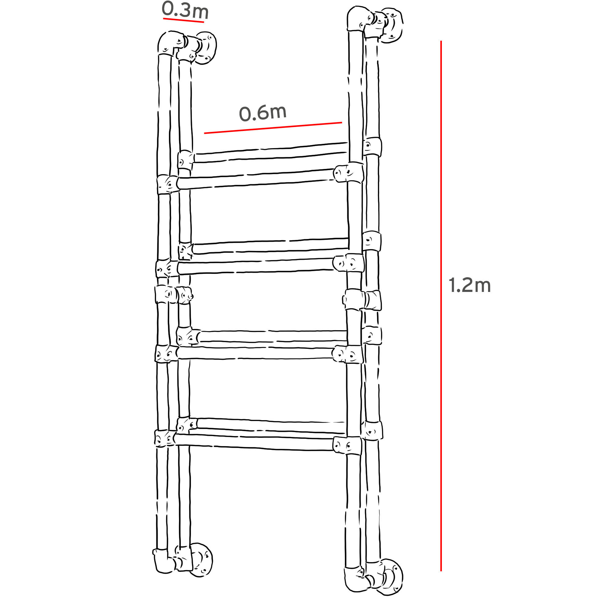 Wall mounted shoe rack Simplified Building