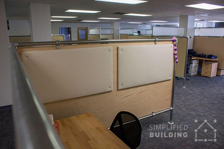 steel cubicle frame for offices