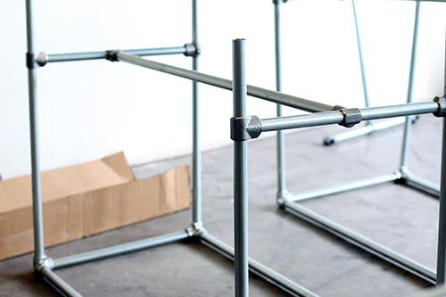 aluminium fittings for table