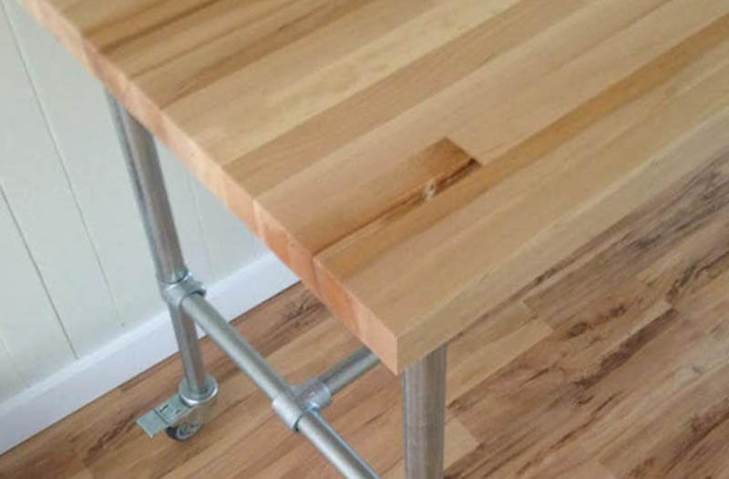 easy to customise table frame for dining rooms