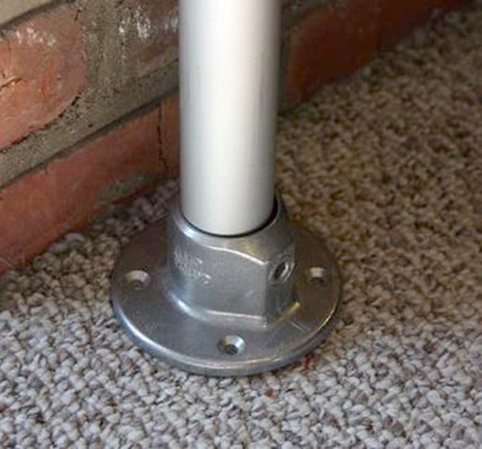 aluminium table leg