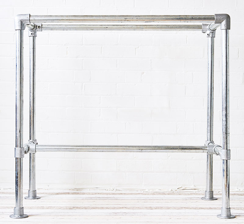 heavy duty table or desk frame