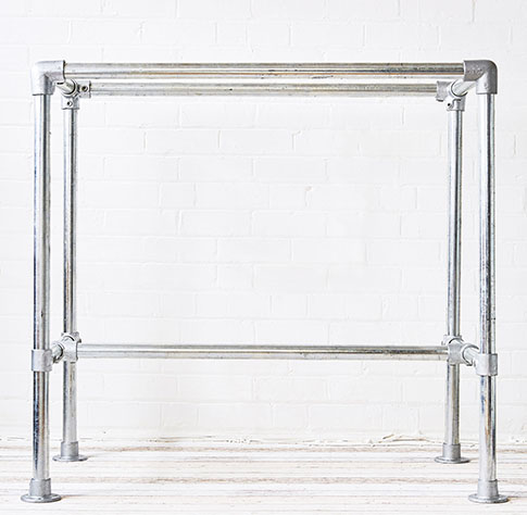 table frame for heavy table tops