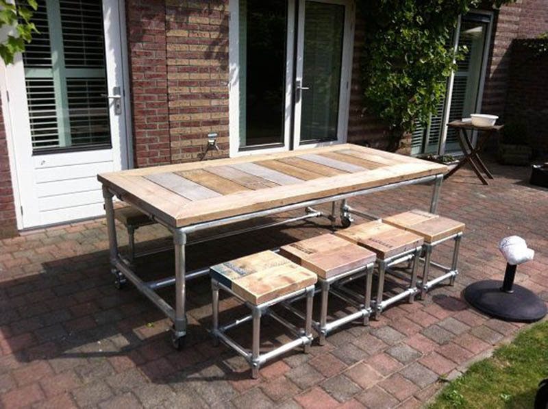 garden table frame