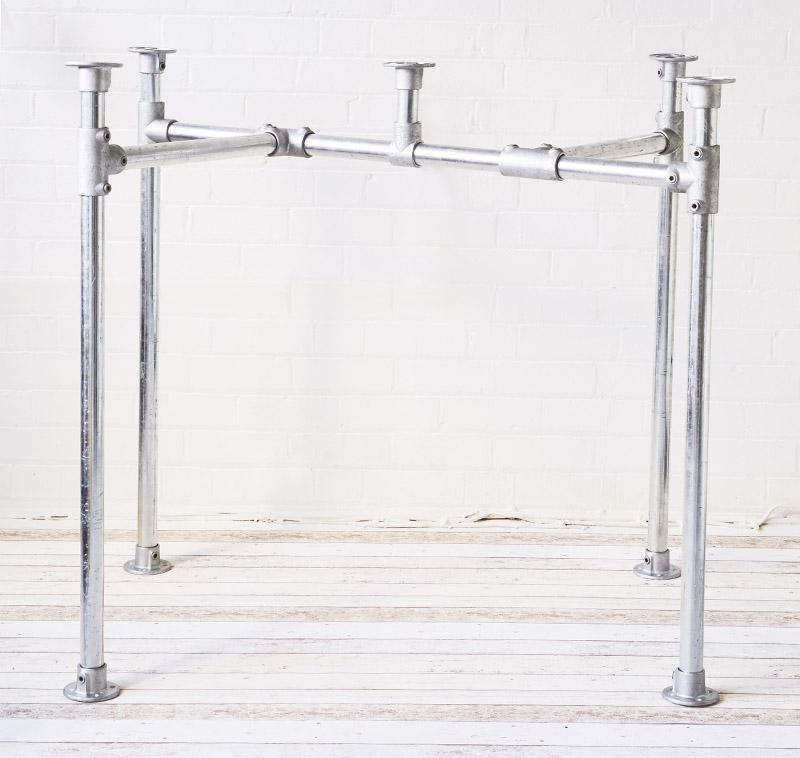 stylish heavy duty table frame